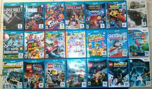 Juegos De Wiiu Y Wii Originales, Copias
