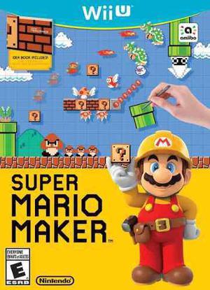 Juegos Digitales Para Wii U, Mario Maker + Pack De Juegos