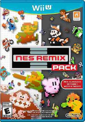 Juegos Digitales Wii U. Nes Remix Pack + Pack De Juegos
