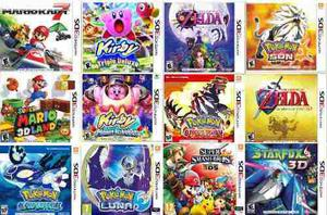 Juegos Nintendo 3ds Digitales