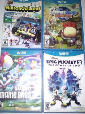 Juegos Nintendo Wii U Originales Oferta