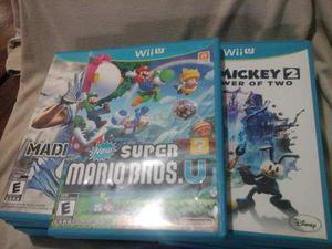 Juegos Originales De Wiiu, Usados En Perfecto Estado