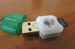 Lector Adaptador Usb Memoria Micro Sd