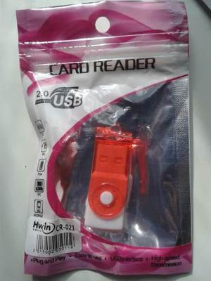 Lector De Memoria Micro Sd Adaptador Usb Tipo Pendrive