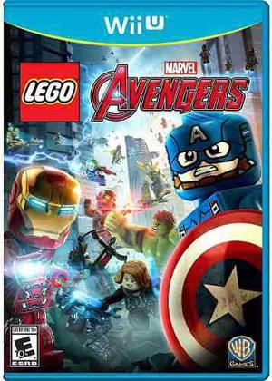 Lego Marvels Avengers Wii U + Pack De Juegos Sin Baneo