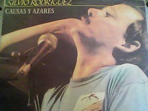 Lp Disco Vinil Acetato De Silvio Rodriguez (causas Y Asares)