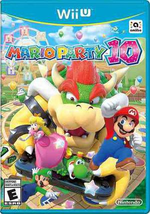 Mario Party10 Wii U + Pack De Juegos. Sin Baneo!