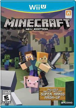 Minecraft Wii U Edition. Digital + Pack De Juegos Sin Baneo