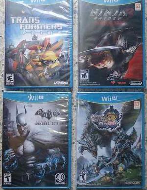 Monster Hunter Ultimate3 Wii U Fisico Nuevo Sellado Original