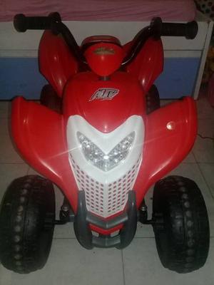 Moto De Bateria 4 Ruedas Master Kids