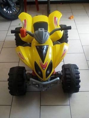 Moto Eléctrica De 4 Ruedas De Bateria