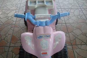 Moto Eléctrica Fisher Price Rosada Para Niña.