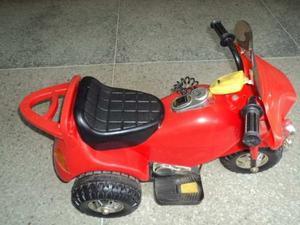 Moto Electrica Para Niños Con Bateria Recargable Y Cargador
