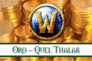 Oro World Of Warcraft (wow) Quel'thalas 100k
