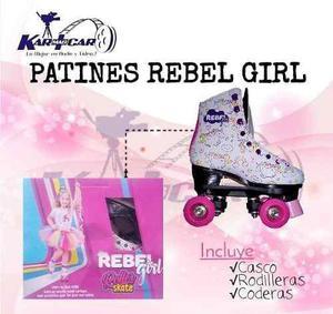 Patines Rebel Girls De La Misma Clase Soy La Luna Calidad A1