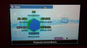 Pokemon Shiny Y Competitivos Iv 6 Para Solluna Xy Oras