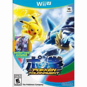 Pokken Tournament Juegos Digitales Para Wii U