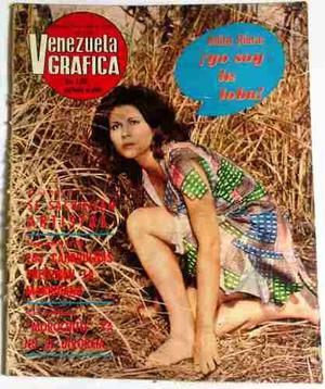 Revista Venezuela Gráfica 1° De Abril De 1973 N° 1.117