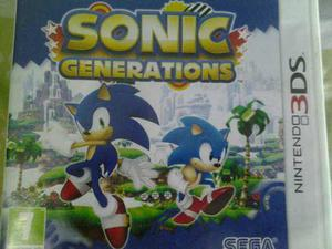 Sonic Genrations Para 3ds Europeo