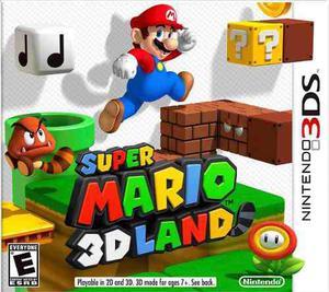 Super Mario 3d Land Juego Original Para 3ds Región Usa Y