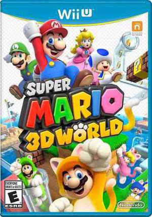 Super Mario 3d World Juegos Digitales Para Wii U