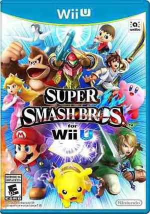 Super Smash Bros Wii U 5.5.3.+ Pack De Todos Los Juegos!