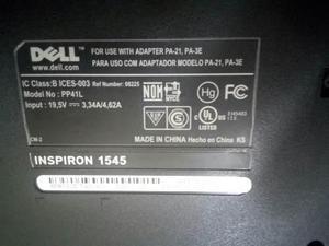 Tarjeta Madre + Procesador Para Laptop Dell 1545