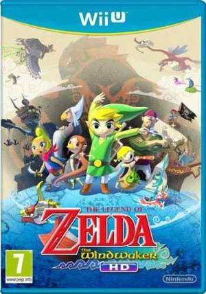 The Legend Of Zelda The Wind Wake Hd + Pack