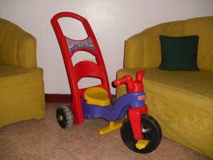 Triciclo Fisher Price 3 En 1.