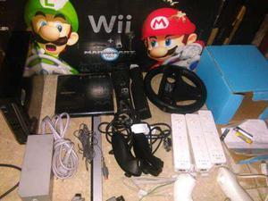 Vendo O Cambio Wii Black Edition Accesorios Juegos