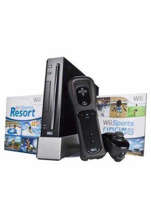 Wii, Con 2 Controles Y Con Juego Incluido Y 2 Controles