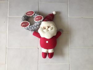 Adorno De Navidad Para El Pomo De La Puerta.
