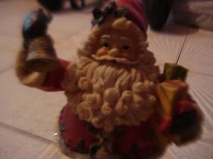 Adorno De Navidad San Nicolas 20 Cms (detalle En Gorro)