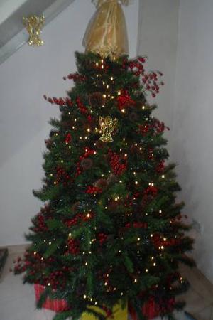 Arbolito De Navidad 1.8mts Frondoso En Su Caja 200trump