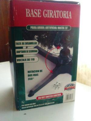 Base Giratoria Eléctrica Para Árbol De Navidad