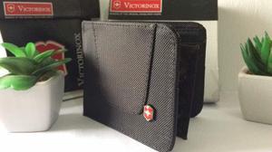 Billetera Para Caballero Victorinox Con Caja Al Mejor Precio