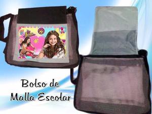 Bolso Bandolero De Malla Personalizado Soy Luna, Descendient