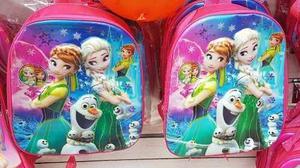 Bolso Morral Escolares De Frozen Soy Luna Peppa Sofia