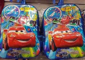 Bolsos Cars Morral Escolar Spiderman Capitan America