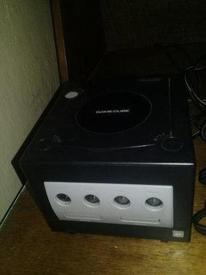 Consola Nintendo Gamecube Color Negro + Accesorios + Control