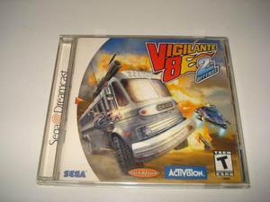 Juego De Coleccion Vigilante 8 2nd Offense Sega Dreamcast