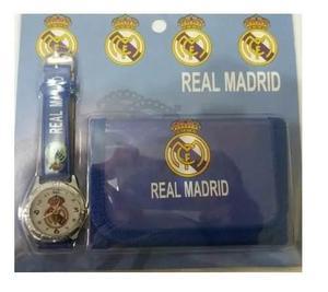Oferta Especial Real Madrid * Reloj + Cartera * Promoción