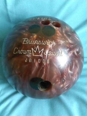 Pelota De Bowling Marca Brunswick Crown Jewel 16 Libras