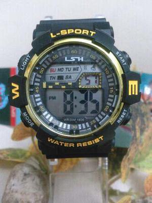 Reloj Deportivo Para Caballero Ideal Gym!!