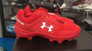 Tacos under armour béisbol talla 10.5 nuevos originales 89626fe932d46