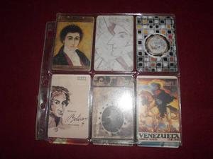 Targetas Tlfs Colecciones Cantv 6 Serie Simon Bolivar El L.