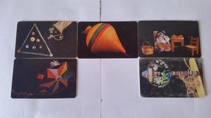 Tarjetas Cantv Serie Juegos Tradicionales De Venezuela