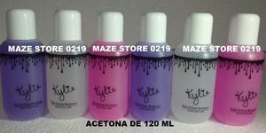 Acetona Removedor De Esmalte Marca Kylie 120 Ml