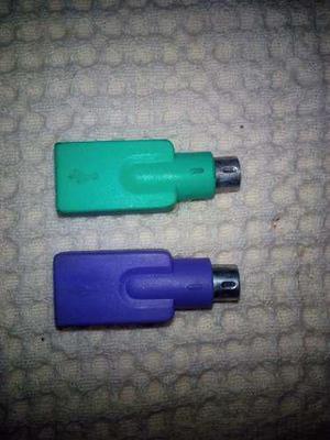 Adaptadores Ps2 A Usb Teclado Y Mouse