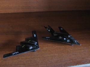 Aviones A Escala (F117 Y B2)